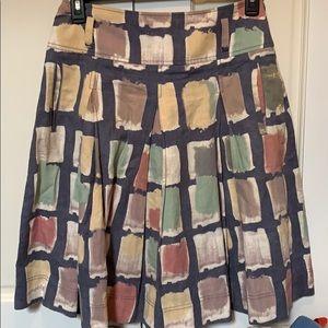 Max Mara weekend linen skirt women's size large 12